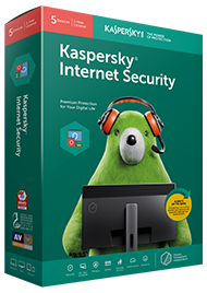 Kapersky Internet Security Protection for up to x3 PC or Laptops