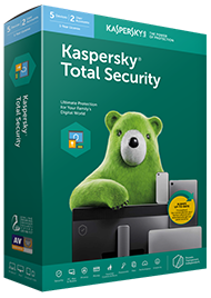 Kaspersky Total Security on PC, Mac & Mobile,3 Devices, 1 Year Protection